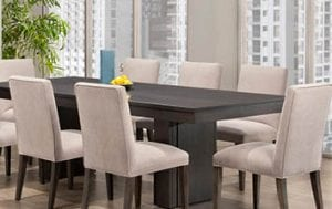 Birchwood Dining Chairs and Table