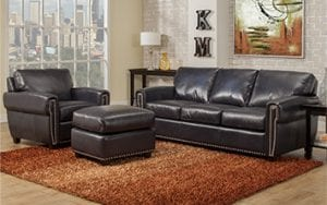 Birchwood Omnia Leather Living Room Set