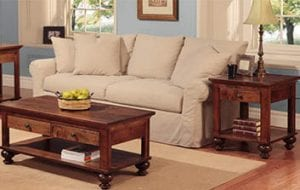Birchwood Handstone Living Room Furniture