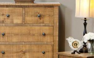 Birchwood Hotzen Wood Dresser
