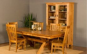 Woodworks Solid Wood Dining Room Set