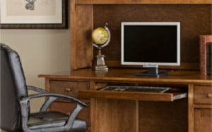 Birchwood Hotzen Wood Office Desk